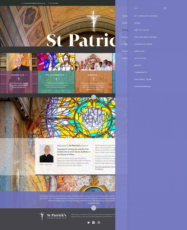 St-Patricks-menu